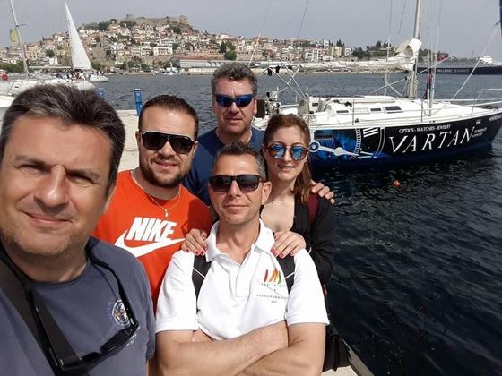 Τρίτη θέση για το σκάφος ΑNDROMEDA – VARTAN του Ναυταθλητικού Ομίλου Αλεξανδρούπολης