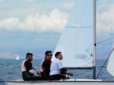 Ο Ναυταθλητικός Όμιλος Αλεξανδρούπολης στο Πανελλήνιο Πρωτάθλημα Σκαφών Lightning με δύο σκάφη